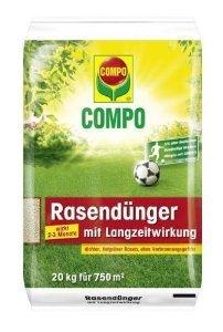 [lokal][team baucenter]Compo Rasendünger mit Langzeitwirkung 20 kg