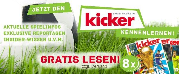 8 X Kicker für 2,95€
