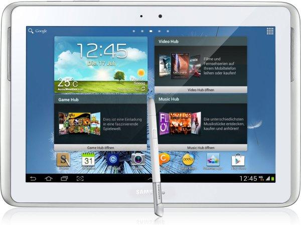Samsung Galaxy Note 10.1 LTE (16GB) in weiß für 204€