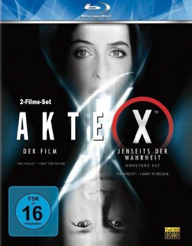 [Blu-Ray] Akte X: Der Film +Jenseits der Wahrheit @Amazon Prime 7,61€