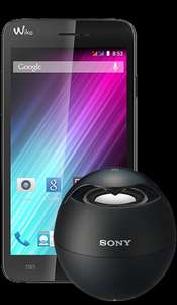 Handyvertrag (Talkline) 100min 250mb 3000 sms + Wiko Lenny + Sony Soundbox