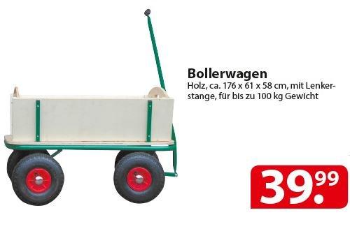 [lokal Famila Nordost] Bollerwagen bis 100kg für 39,99€