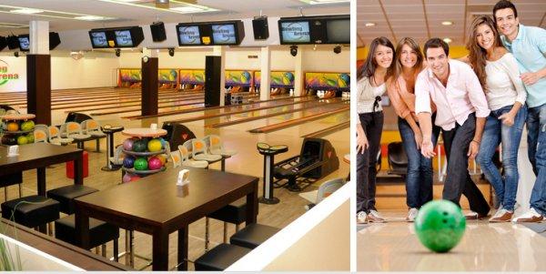 2 Stunden Bowling am Sonntag für bis zu 8 Personen inkl. Leihschuhen und Nachos für 29,90
