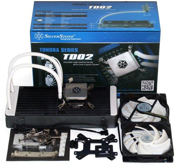 Silverstone TD02 - 75,99€ - Wasserkühlung für PC