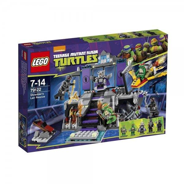 LEGO Teenage Mutant Ninja Turtles - 79122 Rettung aus Shredders Versteck, 35,99 EUR @ ebay