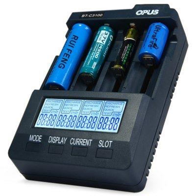 Opus Universalladegerät BT-C3100 V2.1 für Li-Ion, NIMH, NiCd Akkus für 35,86 @Gearbest