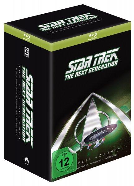 Star Trek: The Next Generation - The Full Journey Box (41 BluRays) für 120,- EUR
