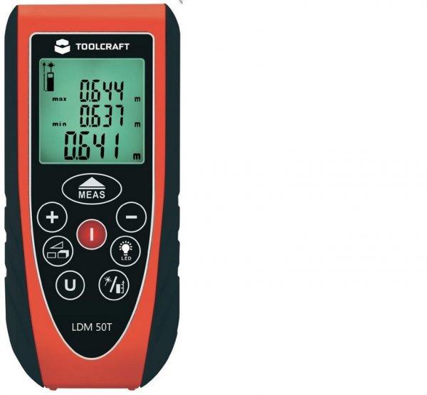 TOOLCRAFT LDM 50 T Laser-Entfernungsmesser bei Völkner für 33 Euro
