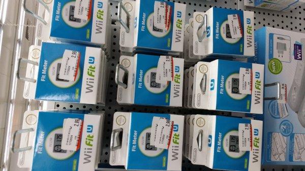 Wii Fit U Meter Grün und Rot im Media Markt Lingen Lookentor für 2,99€