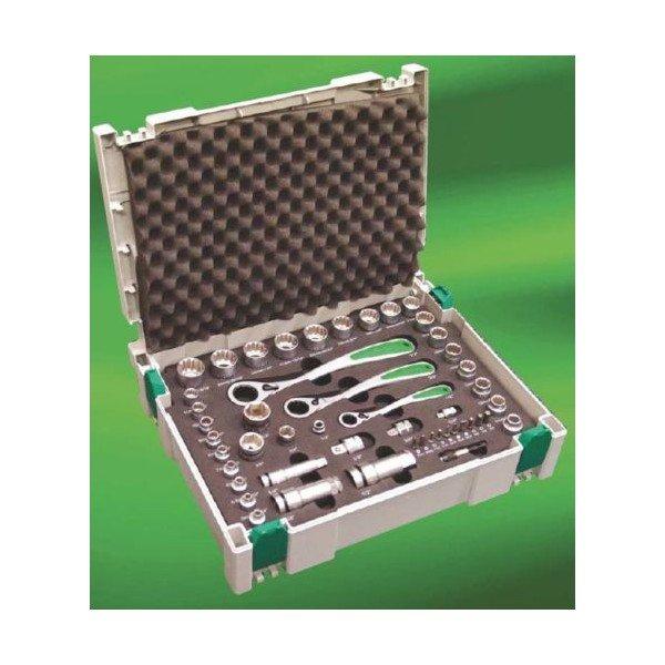 Hitachi Steckschlüssel-Satz 49-tlg im Systainer(Werkzeug)