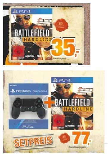 [Expert-Bening Gruppe] Battlefield Hardline PS4 für 35,-€ oder Battlefield Hardline PS4 + PS4 Controller für 77,-€