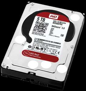 WD Red 5TB NAS-Festplatte bei Amazon(Prime)