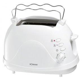 [notebooksbilliger] Bomann TA 246 CB Toaster weiß für 9,99€ inkl. VSK