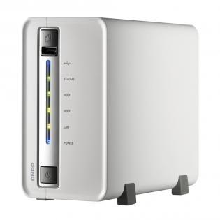 [Redcoon/Hotdeal] NAS QNAP TS-212P, 512MB/1.6GHz, 2-Bay,Leergehäuse für 99,-€ Versandkostenfrei