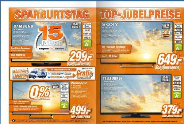 Sony KDL-50W829B bei Expert Langenhagen / 30% unter Idealo