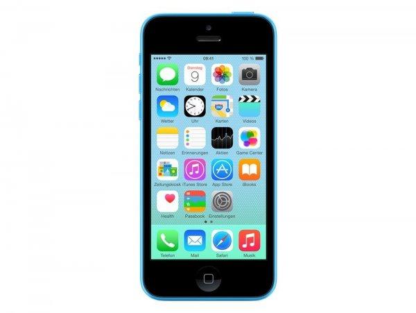 [ebay/gravis] Apple iPhone 5c, 8 GB, blau, vertragsfrei für 260,10 EUR
