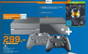 [Lokal Saturn Saarbrücken & Trier] - Xbox One + 2ten Controller + Halo - The Master Chief Collection (Download-Code)