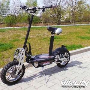 e scooter faltbarer viron elektro roller 1000 watt f r 380 cold weil ohne stra enzulassung. Black Bedroom Furniture Sets. Home Design Ideas