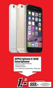 [Lokal MM Göttingen] iPhone 6 16GB alle Farben 555€