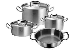 Fissler profi-collection Topf-Set 4 tlg. mit 18/10 Deckel, 329,84 EUR @ sopo