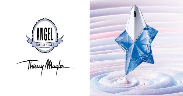 Gratisprobe Thierry Mugler Angel Eau Sucrée bei Facebook. Limitiert auf 500 Stück.