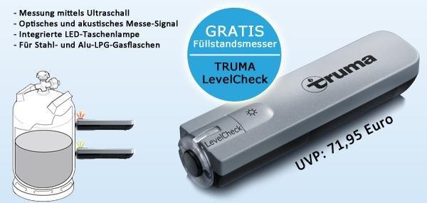 Gasflaschen-Prüfer TRUMA LevelCheck GRATIS im Abo