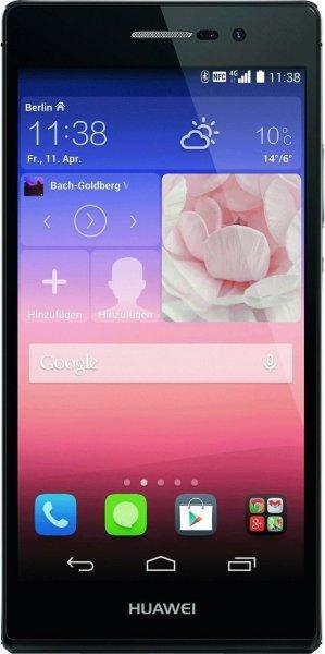 Huawei Ascend P7 schwarz für 259,00€ bei Filiallieferung (ansonsten +1,99€ Versand) @mediamarkt.de
