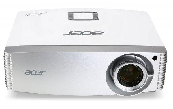 (WHD) Acer H9505BD High End Full HD 3D DLP-Projektor (Kontrast 10.000:1, 3.000 ANSI Lumen, 3x HDMI 1.4a mit HDCP Unterstützung, 3D 144Hz Triple Flash, Lens Shift, 2D zu 3D, inkl. 3D Shutterbrille ) weiß