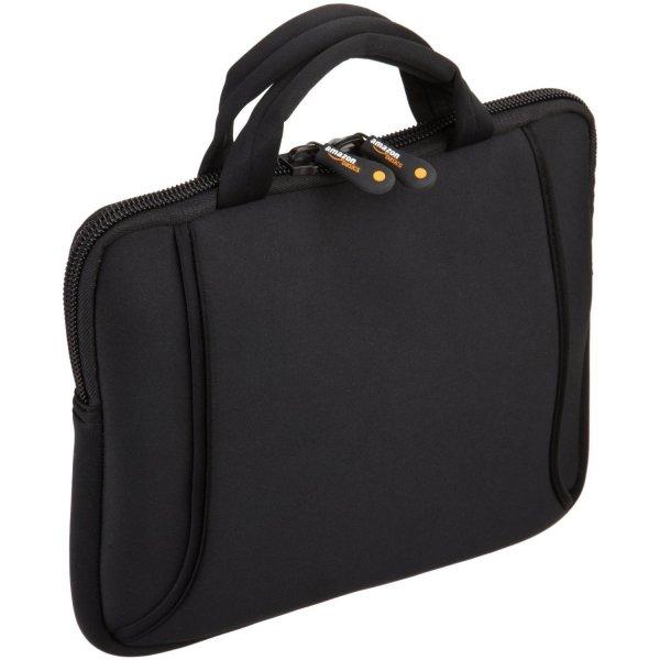 AmazonBasics Netbook- und iPad- Tasche für Größe 17,8 - 25,4 cm (7 - 10 Zoll) mit Tragegriff schwarz@Amazon Blitzangebot