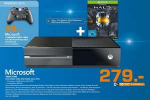 [Lokal Saturn Euskirchen] Xbox One 500GB inkl. Halo - The Master Chief Collection (DLC) 279.- + Controller 29.-
