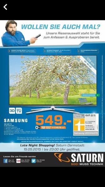 Samsung UE55H6270  Saturn Darmstadt