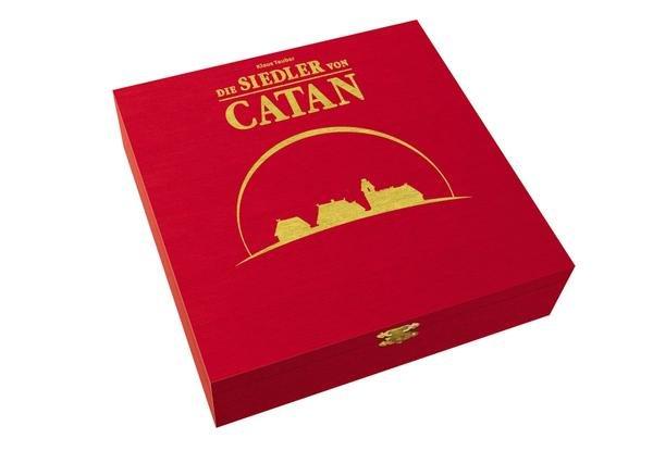 """@Buch.de - Die Siedler von Catan: """"Limitierte Jubiläumsausgabe"""" aus Holz + der Erweiterung für 5-6 Spieler für 29,75€ Versandkostenfrei"""