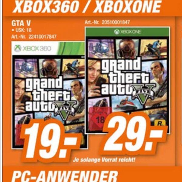 GTA 5 - XBOX One - HEM expert (Lokal BaWü) - 29€