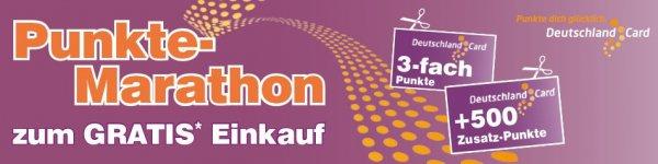 [Edeka, Marktkauf, nah&gut bundesweit] Deutschland-Card: mehr als 10% des Einkaufswertes in Punkten erhalten und mit Punkten bezahlen.