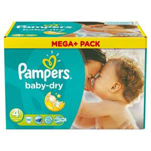 [ALLYOUNEEDFRESH] Pampers Baby Dry Mega+ 3/4/4+/5 | Jumbo+ 5 | Sparpacks 5/5+ (Coupon + 20%GS + Kostenloser Versand eventuell 5% Qipu)