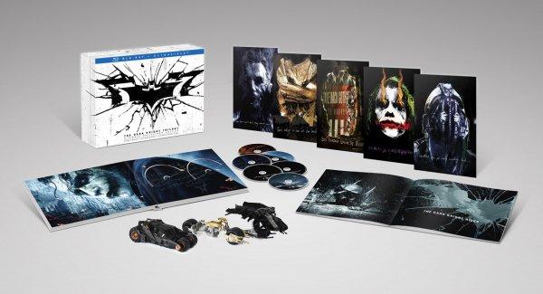 (amazon.de) Batman - The Dark Knight Trilogy (Blu-Ray) Limited Collectors Edition für 35,97€