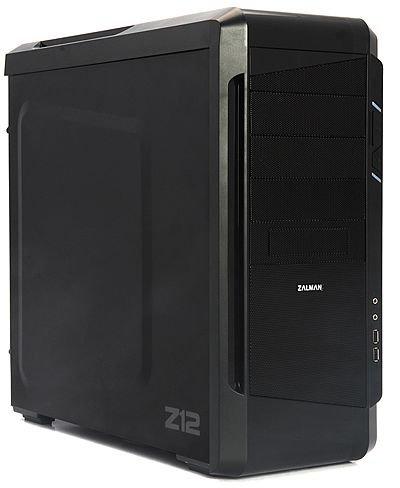 Zalman Z12 - ATX-PC-Gehäuse, 2x 120mm-Lüfter, 2x USB 3.0, Staubfilter - 39,99€ @ ZackZack