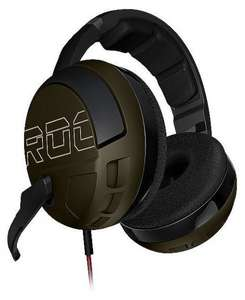 Roccat Kave XTD Desert Strike Stereo Premium Over-Ear Gaming Headset (50 mm Speaker, abnehmbares Mikrofon, 2 x 3,5 mm Klinke) @Amazonblitz