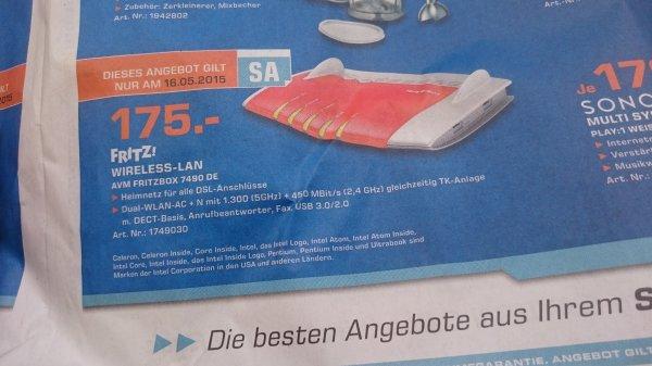 Fritz Box 7490DE 175€ @ Saturn