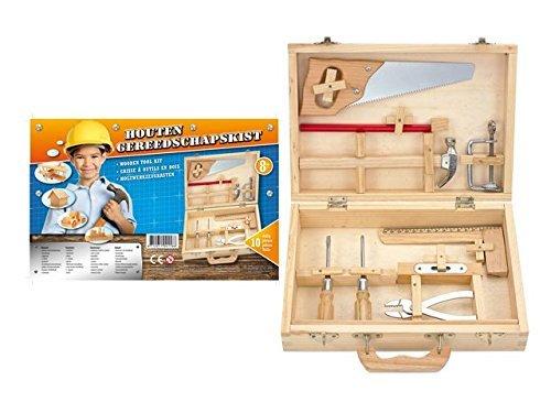 [Amazon-Prime] Kinder Holz Werkzeugkasten