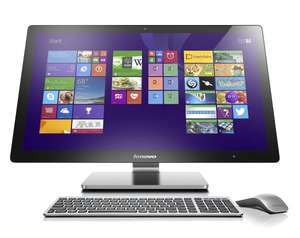 "@Amazon.de - Lenovo A740 68,58 (27"" Zoll QHD LED) All-In-One Desktop-PC (Intel Core i7-4558U, 3,3GHz, 8GB RAM, Hybrid 1 TB + 8GB SSHD, Nvidia GeForce GTX 840A/2GB, Touchscreen, Win 8.1) silber für 1299€ inkl. Versand"