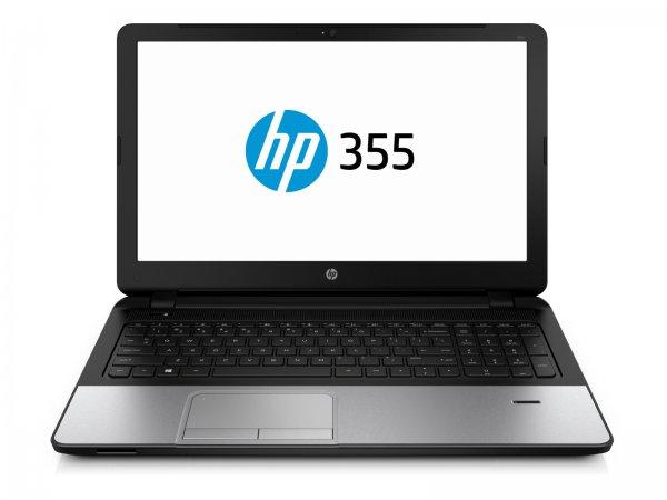 HP 355 G2, A8-6410, R5 M240 Grafik, 4GB RAM, 500GB HDD, 15,6 Zoll matt, Windows 7 Pro & 8.1 Pro - 333€ - Cyberport