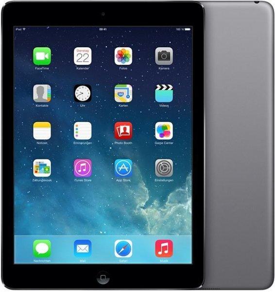 Apple iPad Air 16GB schwarz/grau - 319€ - Cyberport