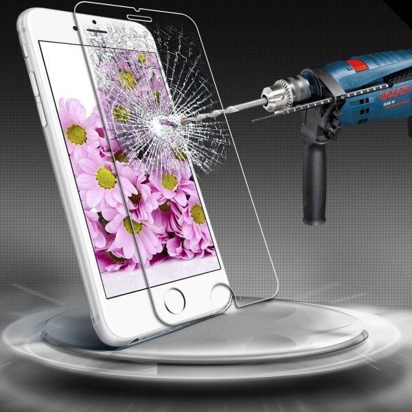 Displayschutzfolie ECHTGLAS Panzerglas 9H Tempered Glass für iPhone6 4,7