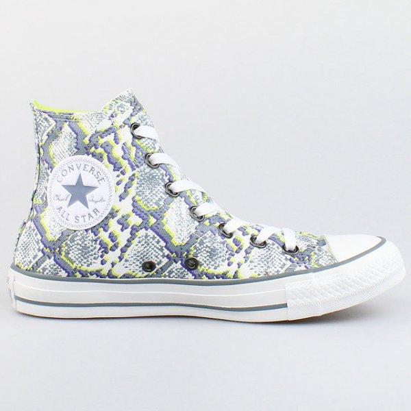 Converse Chuck Taylor All Star Hi - white/puritan gray/citronelle, 39,80 EUR @ ebay
