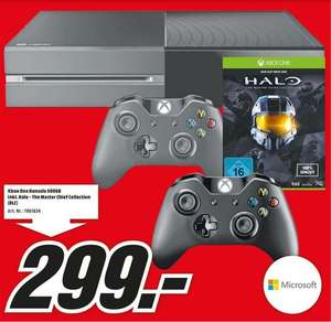 [lokal MM Worms, MM Mannheim, MM Speyer, MM Viernheim ... ] - Xbox One + 2ten Controller + Halo - The Master Chief Collection (DLC)