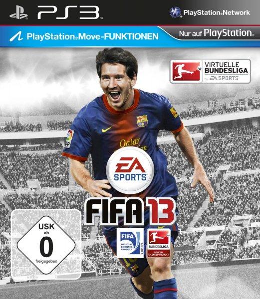 FIFA 13 für die PS3 für nur 2,38 EUR [Amazon WHD]