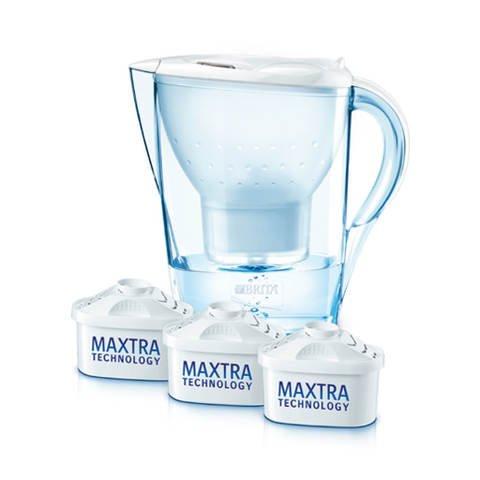 BRITA Marella Cool Weiß Starterpaket