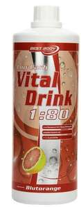 Best Body Nutrition Vital Drink, Blutorange - 9,95€ ergibt 80 Liter!