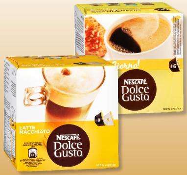 DOLCE GUSTO Kaffee-Kapseln bei Penny 3.99EUR